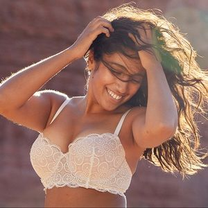 Aerie Real Lightly Lined Balconette Bra